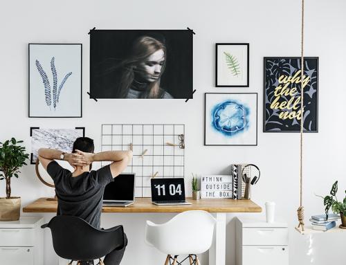 ทำงานที่บ้าน ต้องจัดระเบียบห้องทำงานอย่างไรให้ใช้งานง่าย และมีประสิทธิภาพ