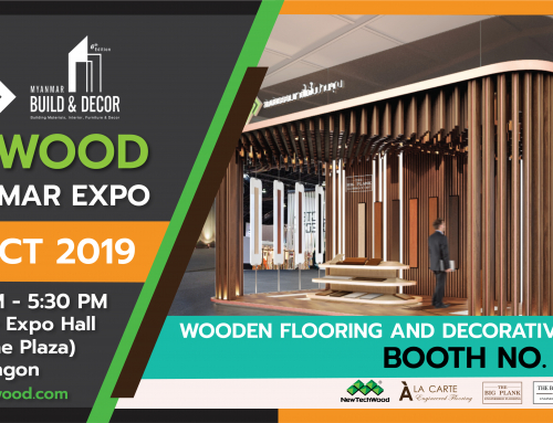 K.S.WOOD x Myanmar Build & Decor 2019