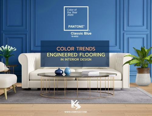 Color of The Year 2020 เลือกสีไม้พื้นแต่งห้องตามเทรนด์สีใหม่